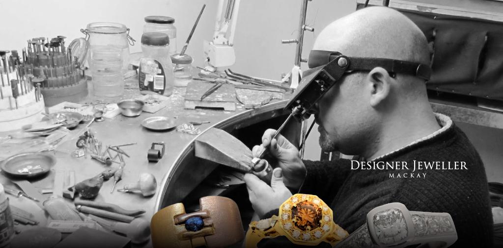 designer jewellers mackay QLD, designer jeweller, handcrafted jewellery