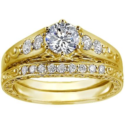 ENG031 Wedding-Engagement Yellow