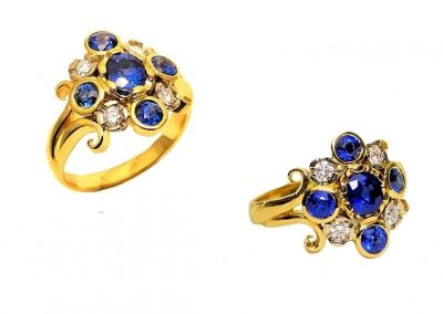 blue sapphire signature