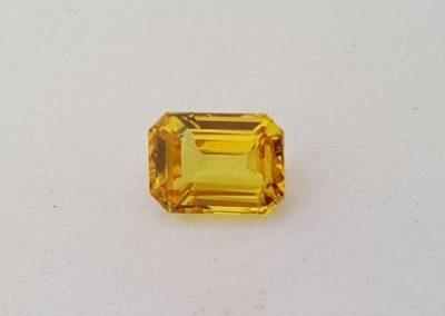 1.28ct australian yellow sapphire