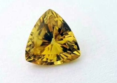 Australian yellow sapphire