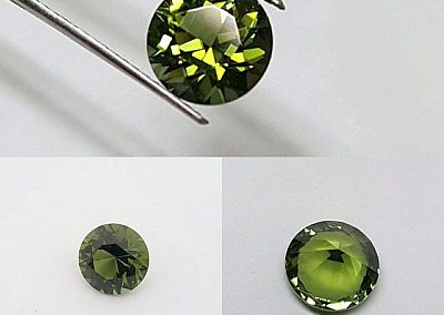 2.04ct Olive Green Tourmaline
